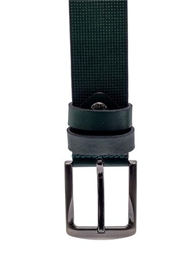 Derimod Erkek Kemer (8393) Casual Yeşil